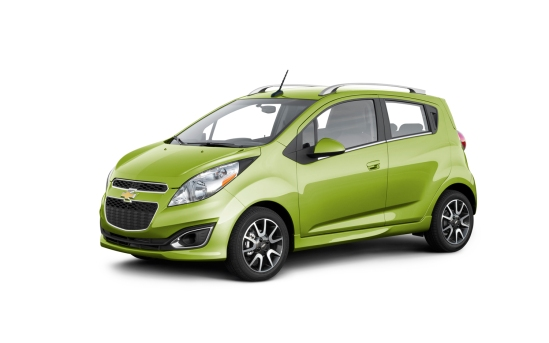 2013-Chevrolet-Spark-green-front-three-quarters