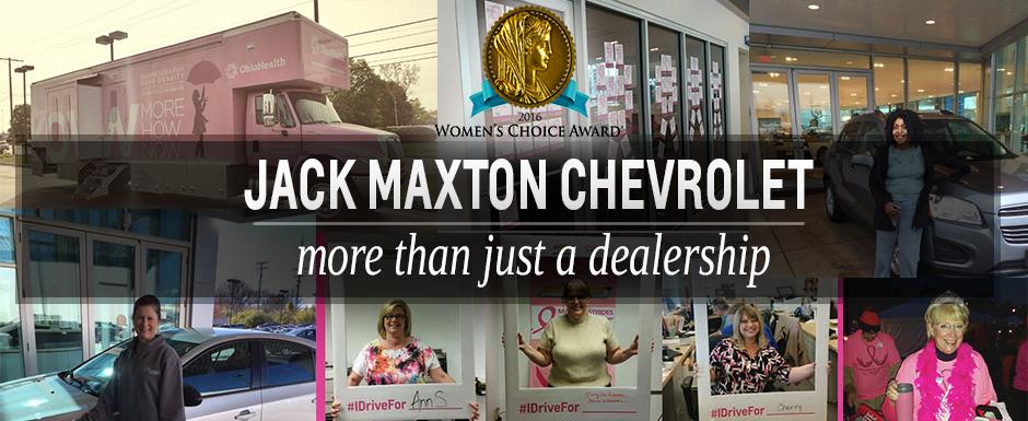 Jack Maxton Chevrolet >> Jack Maxton Chevrolet Earns 2016 Women S Choice Award